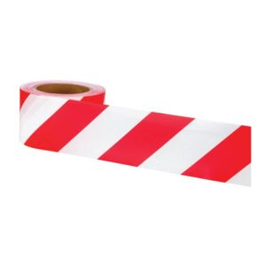 OX 75mm x 100m RedWhite Double Sided Barrier Tape – Box of 20