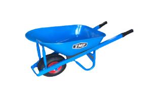 TMP - 100lt Heavy Duty Steel Wheelbarrow 1.2mm H/Duty - 1500x50x25mm Handles