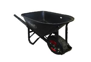 TMP - 100lt Heavy Duty Wheelbarrow Rota Poly Tray / Wide Wheel