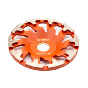 130mm (F-type) Course Cup Wheel