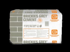 Cockburn Brickies Grey 17.8kg