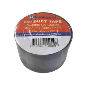 Kwikseal 550 Silver Duct Tape - 30mx48mm