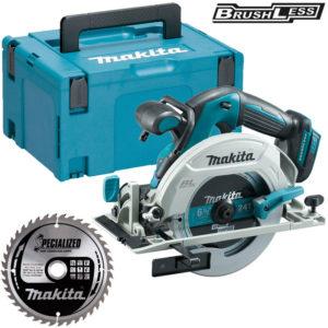"Makita LXT Li-ion 165mm (6-1/2"") Brushless Cordless Circular Saw - Skin Only"