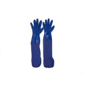 Pro Choice 60cm Blue PVC Glove - One Size