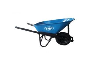 TMP - 100lt Tradesman Steel Wheelbarrow 1mm - 1500x50x25mm Handles