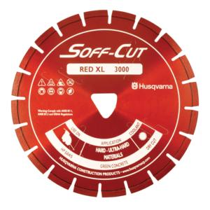XL6-3000 6in 150mm RED BLADE/SKID