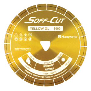 XL6-5000 6in 150mm YELLOW BLADE/SKID