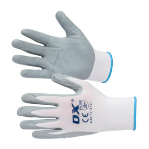 OX Nylon Lined Nitrile Glove