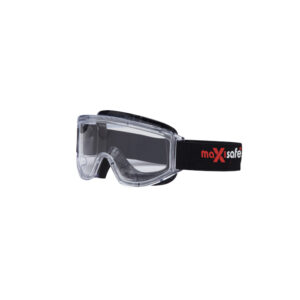 MAXISAFE GOGGLES WITH ANTI-FOG - CLEAR LENS