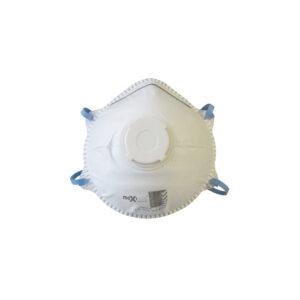 P2 CONICAL RESPIRATOR WITH VALVE BOX 10